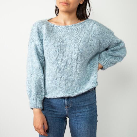 Gazzal Nordic Lace Bebe Mavi El Örgü İpliği - C5007
