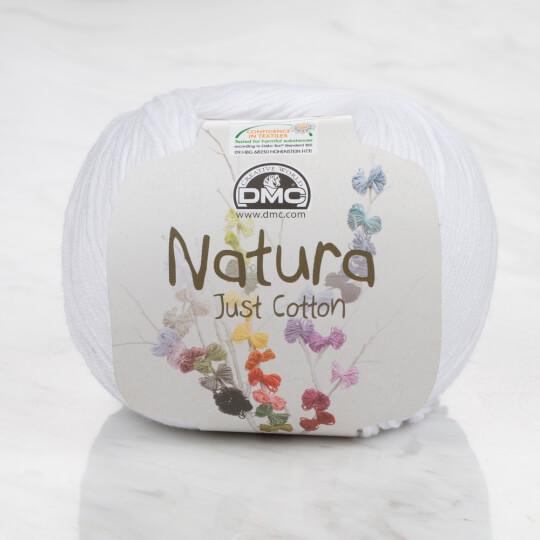 Dmc Natura Beyaz El Örgü İpi - N01