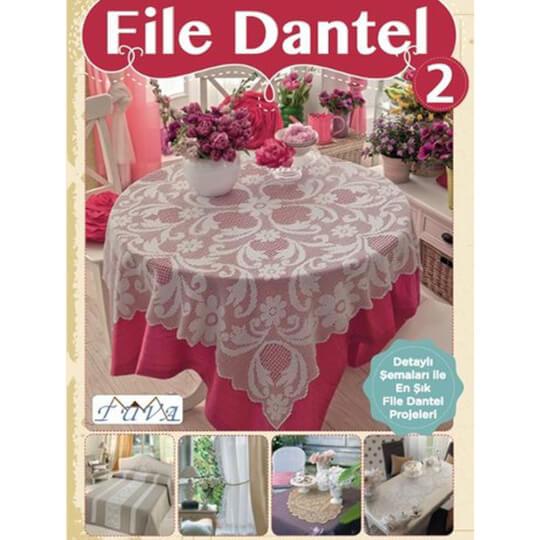 Tuva File Dantel 2 Kitabı - 5990