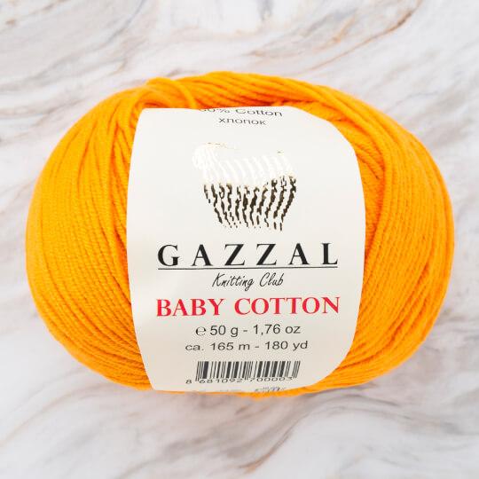 Gazzal Baby Cotton Açık Turuncu Bebek Yünü - 3416