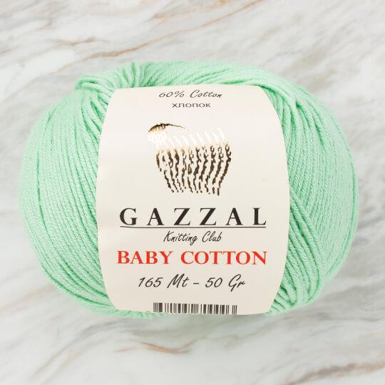 Gazzal Baby Cotton Su Yeşili Bebek Yünü - 3425