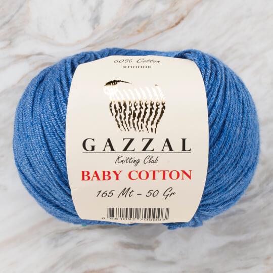 Gazzal Baby Cotton Koyu Mavi Bebek Yünü - 3431