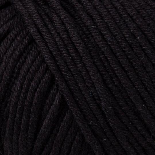Gazzal Baby Cotton XL Siyah Bebek Yünü - 3433XL