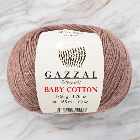 Gazzal Baby Cotton Açık Kahve Bebek Yünü - 3434