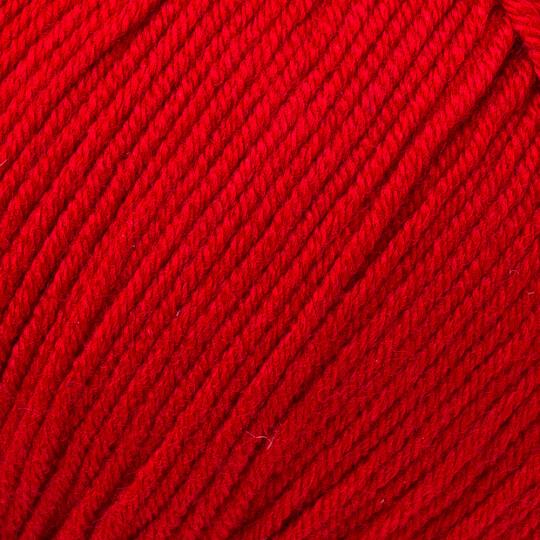 Gazzal Baby Cotton Kırmızı Bebek Yünü -3439