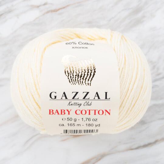 Gazzal Baby Cotton Bej Bebek Yünü - 3437
