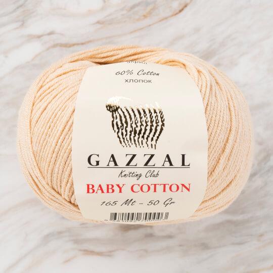 Gazzal Baby Cotton Bej Bebek Yünü - 3445