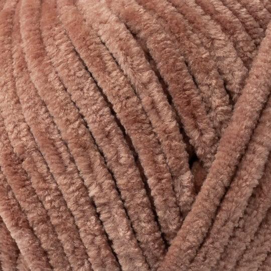 Kartopu Yumurcak Kahverengi Kadife Bebek Yünü - YMD0041