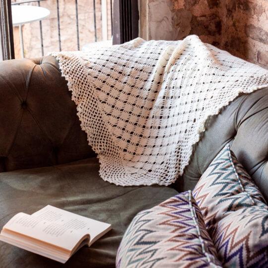 La Mia Lux Mercerized Cotton Pembe El Örgü İpi - 4