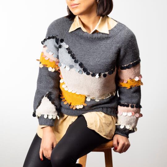 Kartopu Cozy Wool Sport Pudra El Örgü İpi - K1873