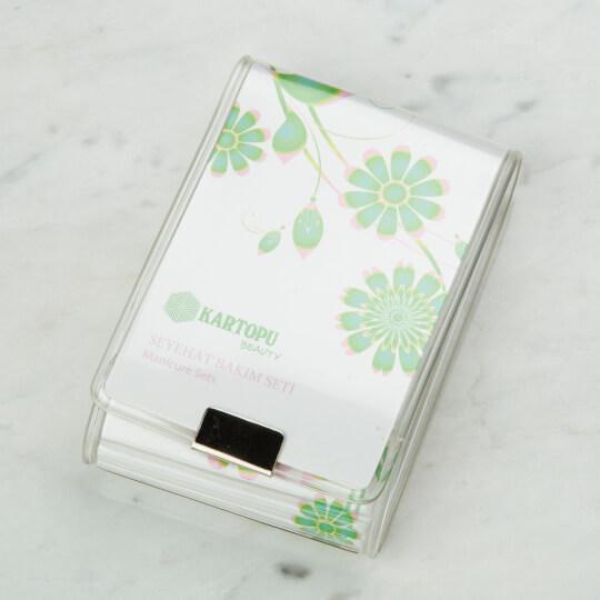 Kartopu Seyahat Bakım Seti - Beyaz K01610005