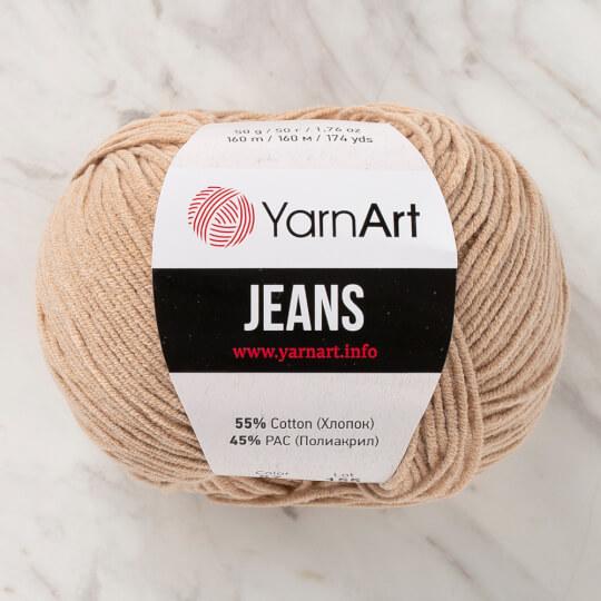 Yarnart Jeans Bej El Örgü İpliği - 87
