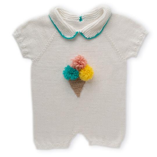 Gazzal Organic Baby Cotton Nar Çiçeği Bebek Yünü - 419