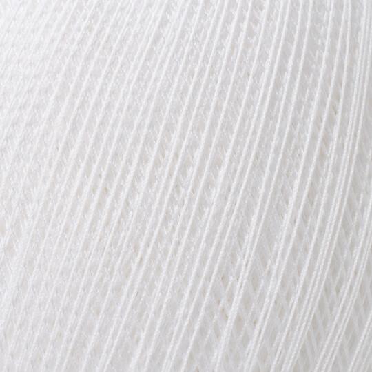 Altınbaşak Gold No: 50 6 Katlı Beyaz Dantel İpliği - Beyaz - 30