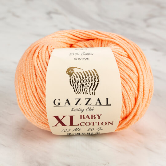 Gazzal Baby Cotton XL Yavruağzı Bebek Yünü - 3412XL