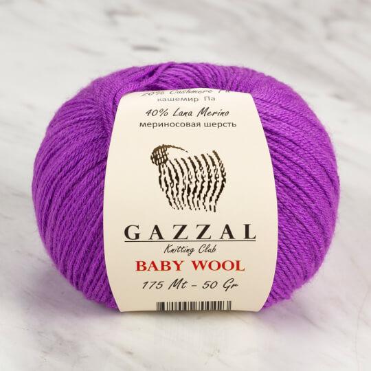 Gazzal Baby Wool Mor Bebek Yünü - 815