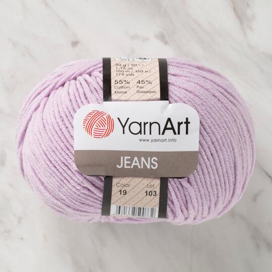 YarnArt Jeans Lila El Örgü İpi - 19