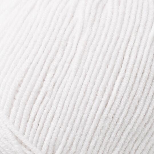 YarnArt Jeans Optik Beyaz El Örgü İpi - 62