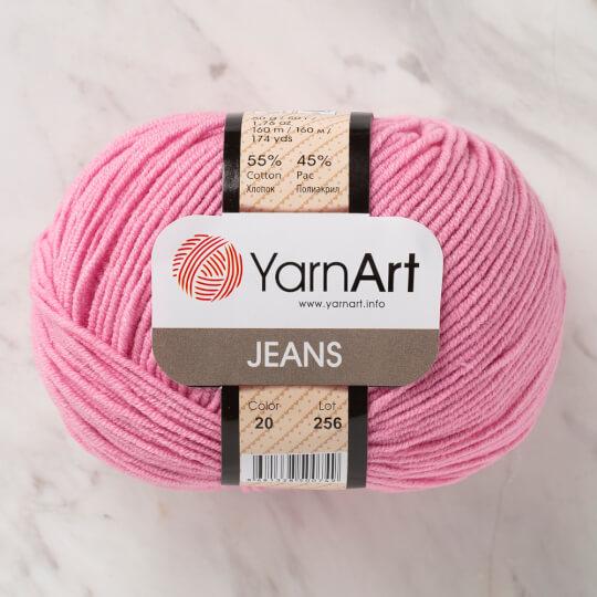 YarnArt Jeans Pembe El Örgü İpi - 20