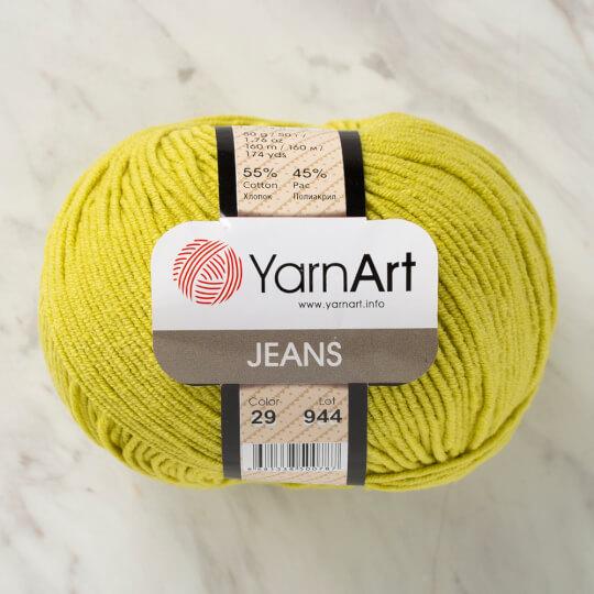 YarnArt Jeans Yeşil El Örgü İpi - 29