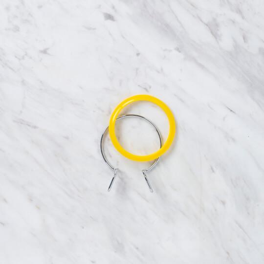 Nurge 58 mm Sarı Küçük Metal Nakış Kasnak