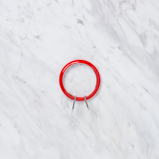 Nurge 58 mm Kırmızı Küçük Metal Nakış Kasnak