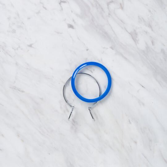 Nurge 58 mm Mavi Küçük Metal Nakış Kasnak