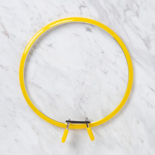 Nurge 195 mm Sarı Büyük Boy Metal Nakış Kasnak