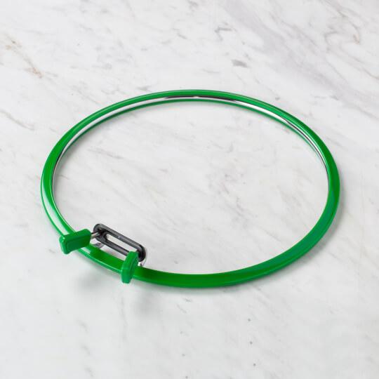 Nurge 195 mm Yeşil Büyük Boy Metal Nakış Kasnak