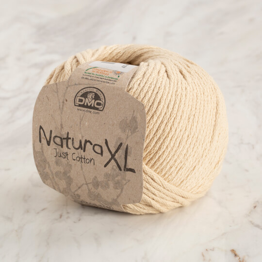 Dmc Natura XL Krem El Örgü İpi - 31