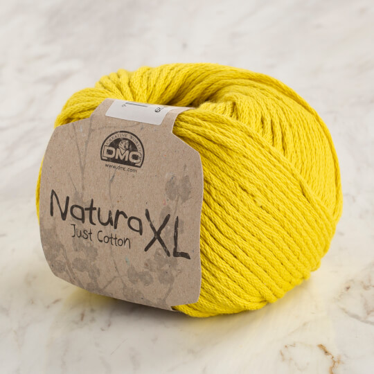 Dmc Natura XL Hardal Sarı El Örgü İpi - 82