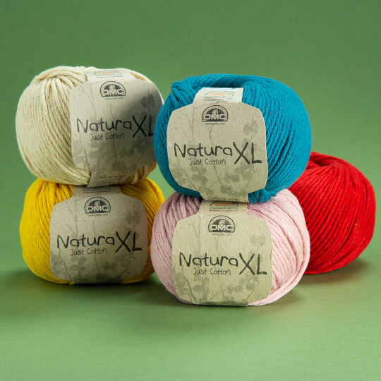 Dmc Natura XL Ten Rengi El Örgü İpi - 32