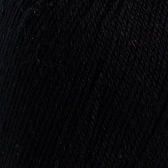 YarnArt Bianca Baby Lux 50gr Siyah Bebek Yünü - 351