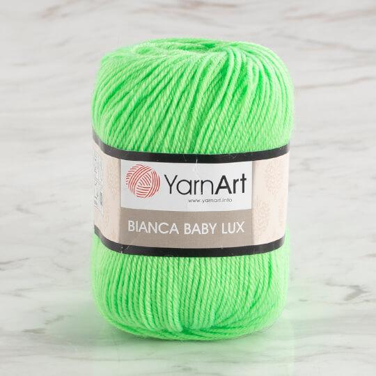 YarnArt Bianca Baby Lux 50gr Yeşil Bebek Yünü - 359