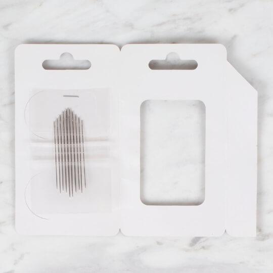 Kartopu 10'lu Gümüş Renk Brezilya Nakış İğnesi - K002.1.0012