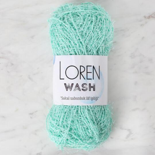 Loren Wash Yeşil El Örgü İpi - R058