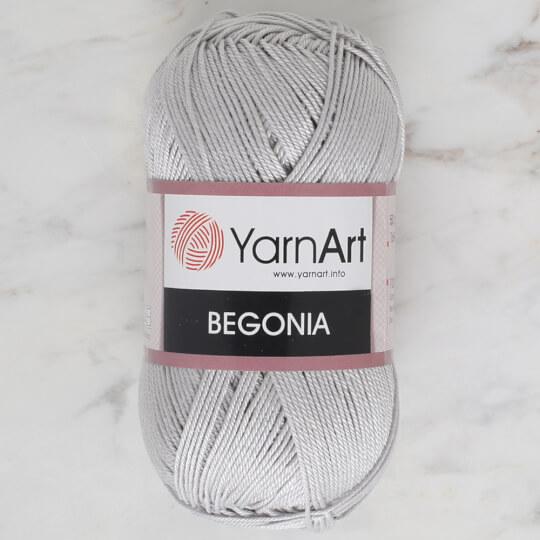 YarnArt Begonia 50gr Gri El Örgü İpi - 4920
