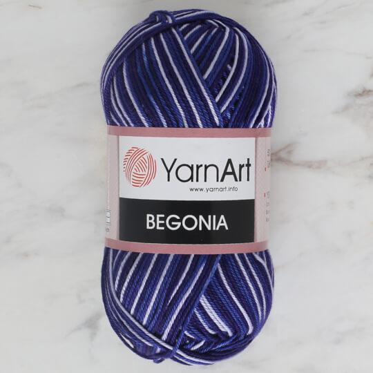 YarnArt Begonia Melange 50gr Ebruli El Örgü İpi - 189