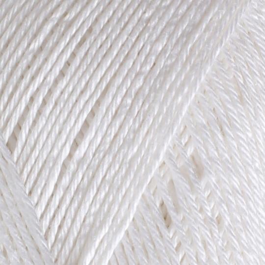 YarnArt Begonia 50gr Beyaz El Örgü İpi - 003