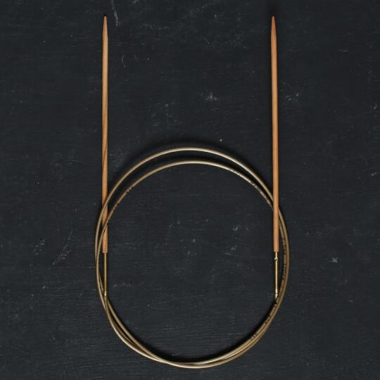 Addi Olive Wood 2,5 mm 100 cm Zeytin Ağacı Misinalı Örgü Şişi - 575-7