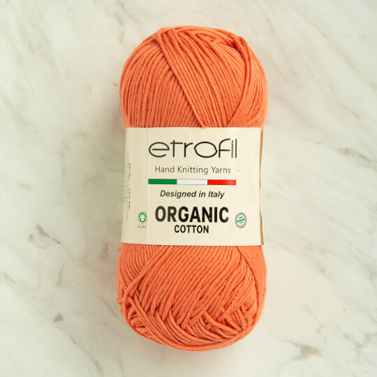 Etrofil Organic Cotton 50gr Turuncu El Örgü İpi - EB006