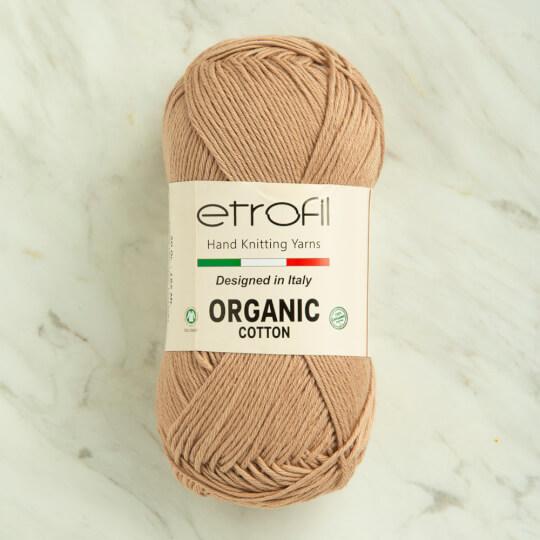 Etrofil Organic Cotton 50gr Bej El Örgü İpi - EB030