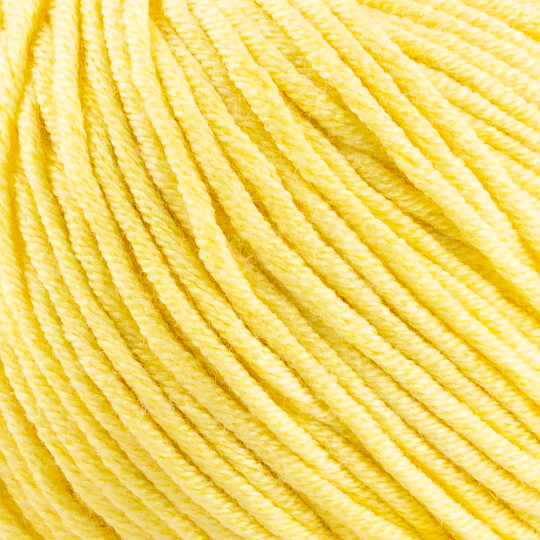 Etrofil Bambino Lux Cotton Açık Sarı El Örgü İpliği - 70218