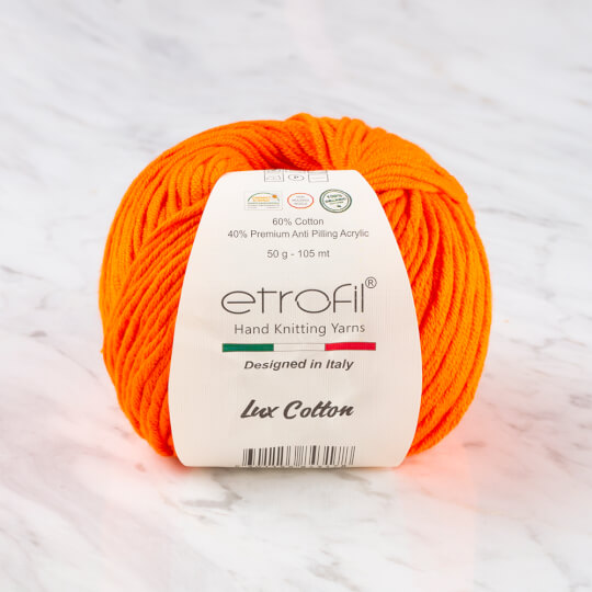 Etrofil Bambino Lux Cotton Turuncu El Örgü İpliği - 70220