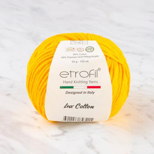 Etrofil Bambino Lux Cotton Sarı El Örgü İpliği - 70219