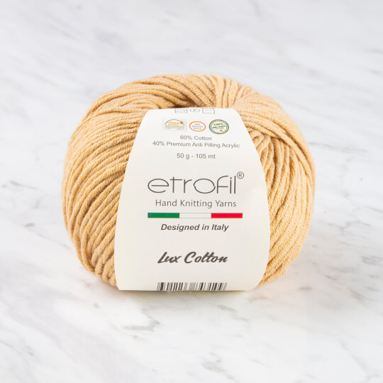 Etrofil Bambino Lux Cotton Sütlü Kahverengi El Örgü İpliği - 70706