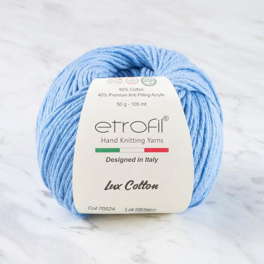 Etrofil Bambino Lux Cotton Mavi El Örgü İpliği - 70524