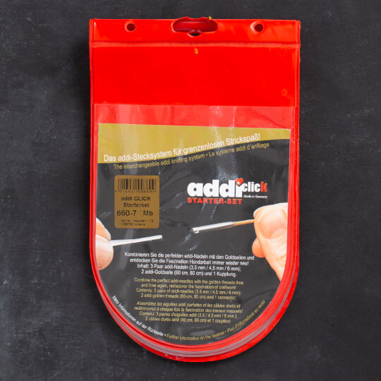 Addi Click Başlangıç Misinalı Şiş Seti - 660-7