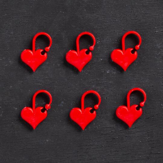 Addi Love 6'lı Kalp İlmek İşaretleyici - 407-2