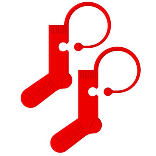 AddiMaker 6 Adet Çorap Şeklinde İlmek Belirleyici - 408-2